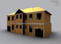 聚合居轻钢龙骨住宅别墅办公房美式建筑